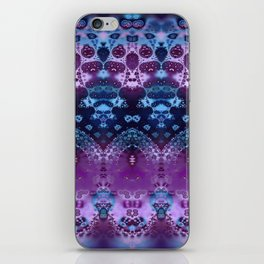 Hippy Blue and Lavender iPhone Skin