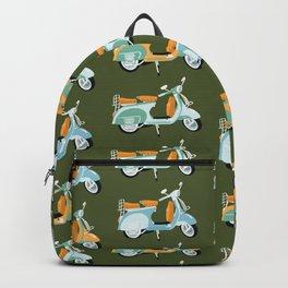Vespa - green  Backpack