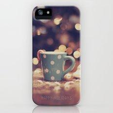 Happy Holidays iPhone (5, 5s) Slim Case
