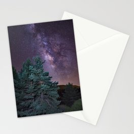 Milkyway at the mountains. Saggitarius and Rho Ophiuchus Stationery Cards