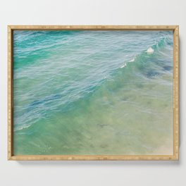 Peaceful Waves Serving Tray