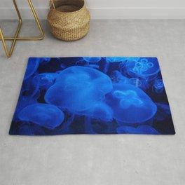 Blue Jellyfish I Rug