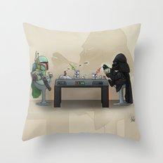 Star Poker Game Throw Pillow