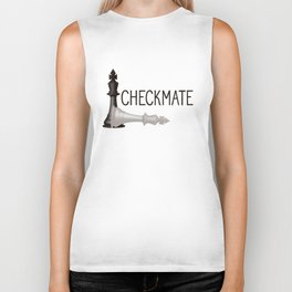 National Chess Day Biker Tank