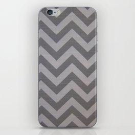 Chevron Grey Pattern iPhone Skin