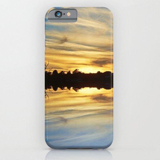 Streaks of Gold iPhone & iPod Case