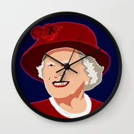 Painting #7 Wall Clock