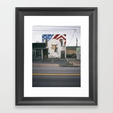Freedom of Expression Framed Art Print
