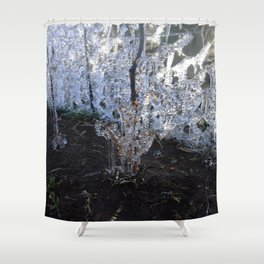 Ice Land 2 Shower Curtain