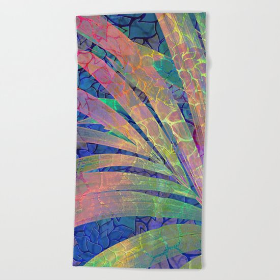 Summer Pattern #8 Beach Towel
