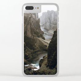 Iceland IV Clear iPhone Case