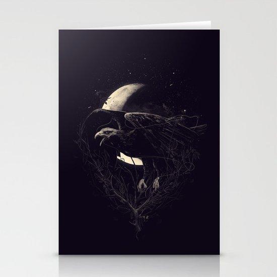 NightFlight Stationery Cards