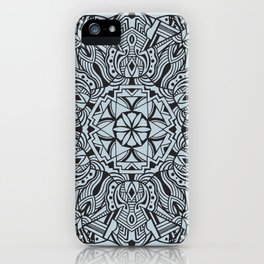 Overcoming Mandala iPhone Case