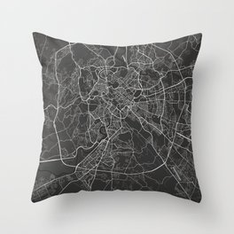 Rome dark Throw Pillow
