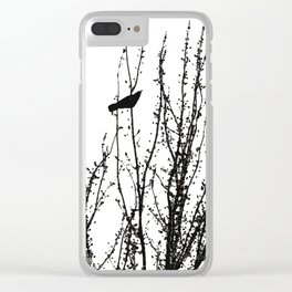 Murder of Crows #1 Clear iPhone Case