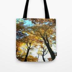 Glowing Treetop Tote Bag