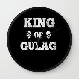 Gulag Gaming Gamer Shooter Gift gamer Wall Clock