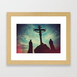 Prague Cross Framed Art Print