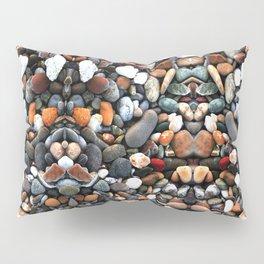 Stone multicolored nature Pattern Pillow Sham