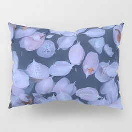 Pinks Petals floating on water Pillow Sham