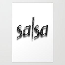 Salsa Acacia Mix Art Print