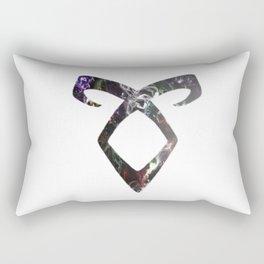 Enkeli Angelic Galaxy Rune Rectangular Pillow