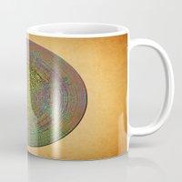 labyrinth Mugs featuring Labyrinth by Klara Acel