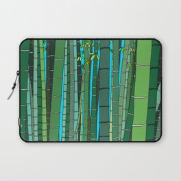 Bamboo Temple in Japan Laptop Sleeve