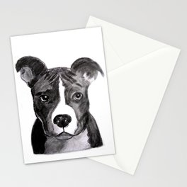 Pit Bull Dogs Lovers Stationery Cards