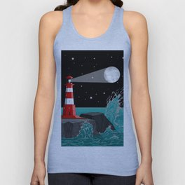 Fabulous Lighthouse Unisex Tank Top