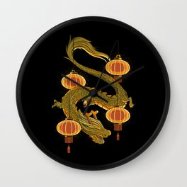Dragon Fly Wall Clock