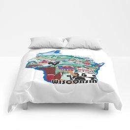 Wisconsin Country Sampler Comforters