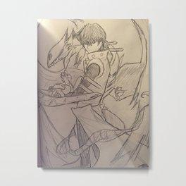 Seto Kaiba Print Metal Print