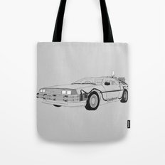 DeLorean DMC-12 Tote Bag