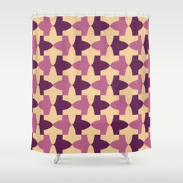 Alhambra Granada Motif Shower Curtain
