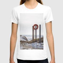 Lake Michigan is safe T-shirt