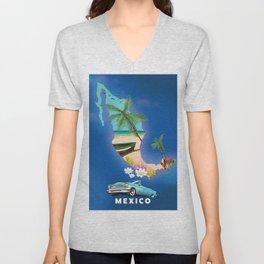 Mexico Unisex V-Neck