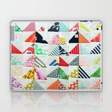 Flying Geese Quilt Pattern Laptop & iPad Skin