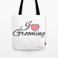 I Love Grooming Tote Bag