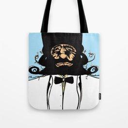"""Mustachat in Technicolor"" Tote Bag"