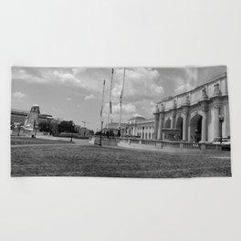 Union Station, No. 2 Beach Towel