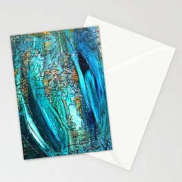 Doodle in blue Stationery Cards