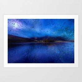 Concept Bavaria : Lake Schliersee Art Print