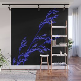 Nature,Minimal,blue Wall Mural
