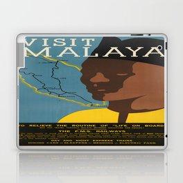 Vintage poster - Malaya Laptop & iPad Skin