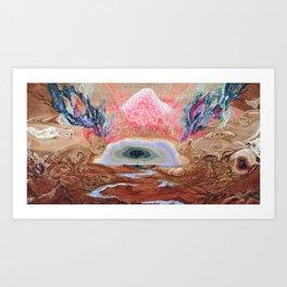 Galaxtree Art Print