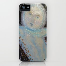 Mr. Moon - Whimsies of Light Children Series iPhone Case
