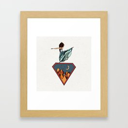 Dancing in the Mountains Framed Art Print