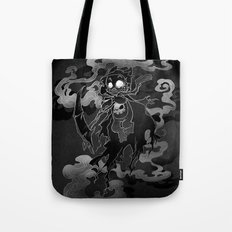 Deathly Bear Tote Bag