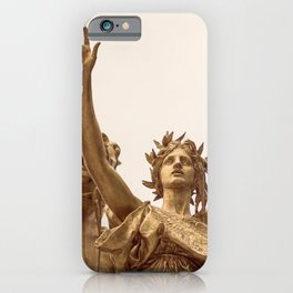 Golden Lady iPhone Case